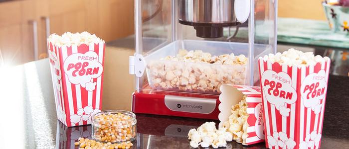 Popcornmaskine Test – Find den bedste popcornmaskine